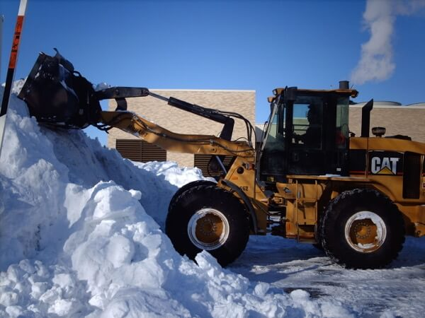 Industrial Snow Plowing - Macomb & Oakland County, MI